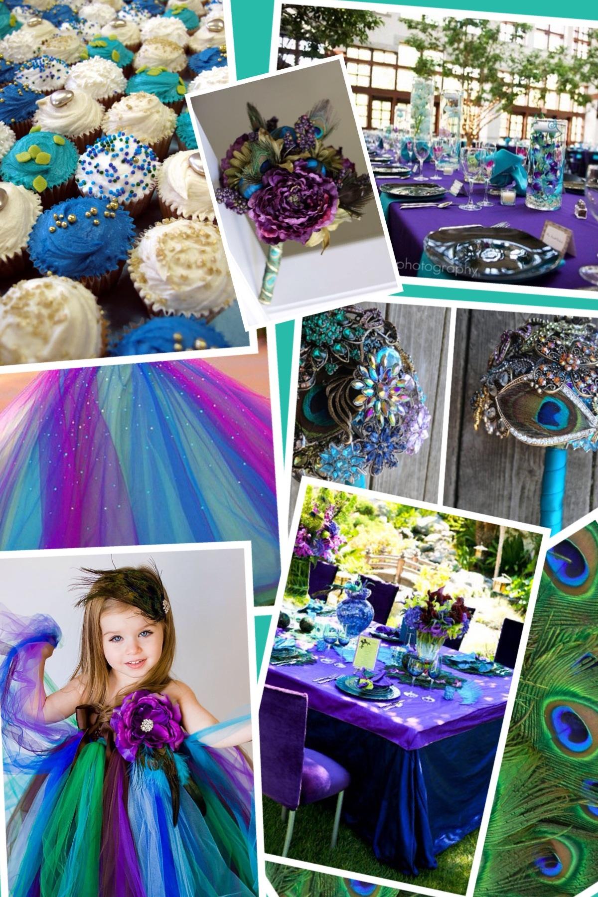 Secret Style File Wedding Peacock Theme